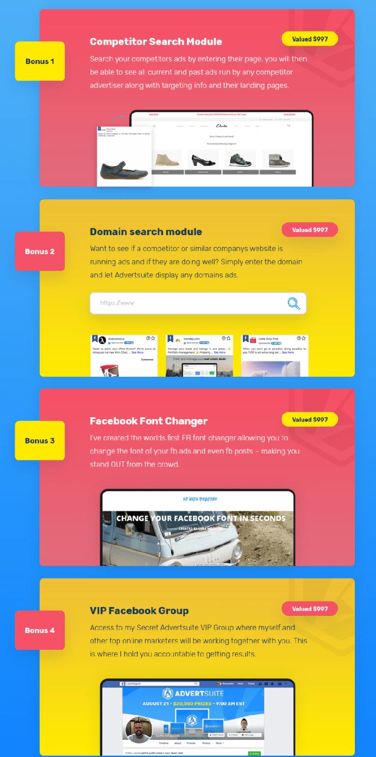 AdvertSuite Bonus