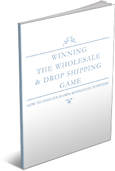 Wholesale and drop shipping Game