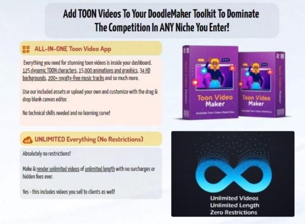 DoodleMaker Toon Video Maker