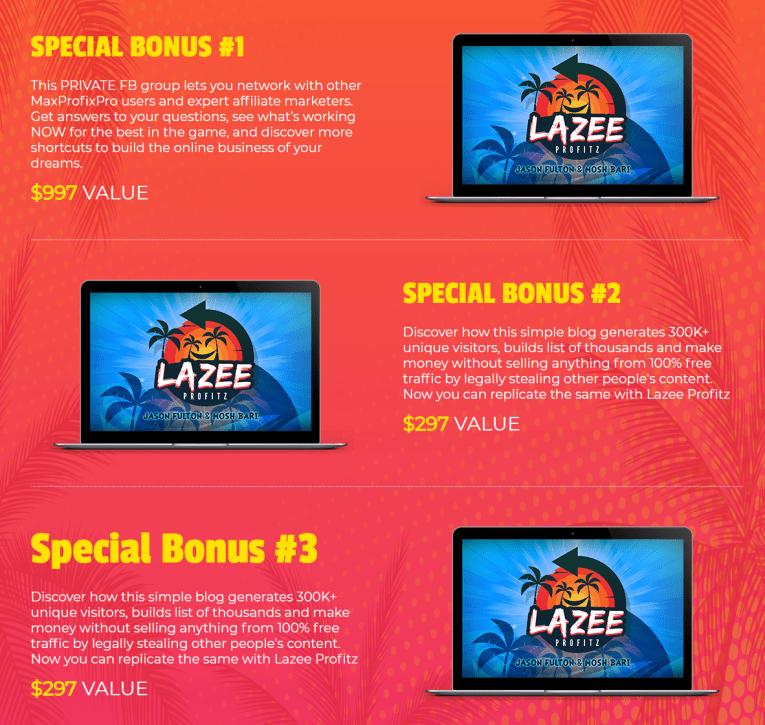 Lazee Profitz Bonus